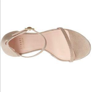 Stuart Weitzman nudist beige sandal